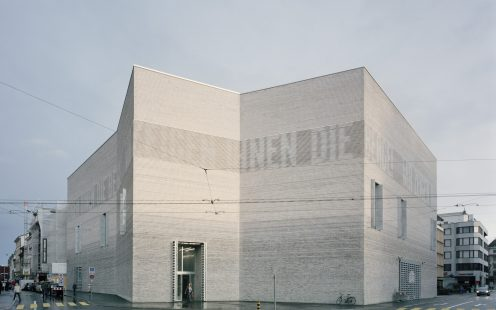 Kunstmuseum Basel Extension, museum with clay blocks; Brick Award 2018 Grand Prize Winner; Christ & Gantenbein; Photo: Rory Gardiner