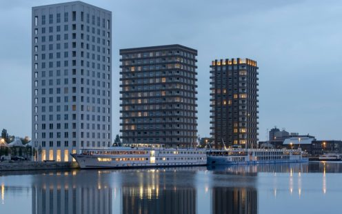 "Apartment building ""Westkaai Towers 5 & 6"" in Antwerp/Belgium"