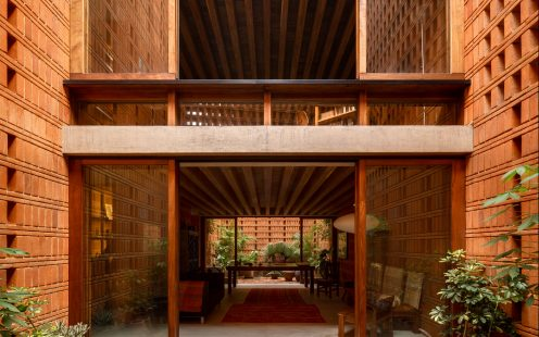 "Iturbide Studio; Brick Award 2020 Category ""Feeling at Home""; Architects: Taller Mauricio Rocha and Gabriela Carrillo, Photo:  Rafael Gamo"